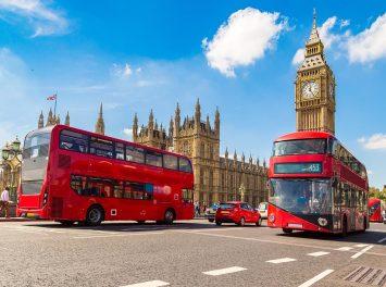 Big Ben, Westminster Bridge, London