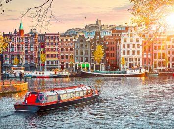 Bunte Häuserreihe, Amsterdam