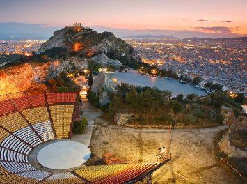 Likabetus Hügel, Athen