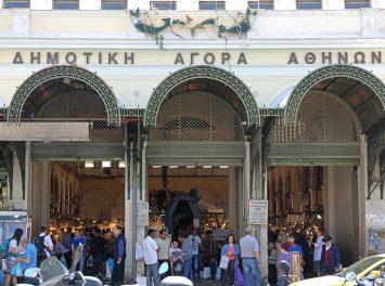 Dimotiki Agora Meat and Fish Market, Athen