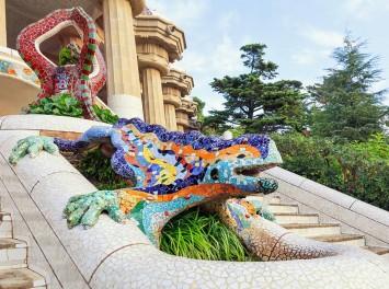 Froschskulpturbrunnen, Barcelona