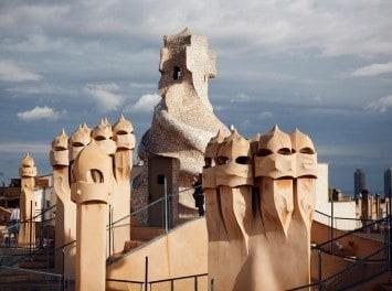 Gaudi Skulpturen, Barcelona