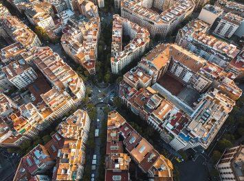 Luftaufnahme, Barcelona