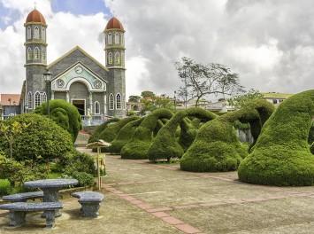 Kirche in Zarcero, Costa Rica