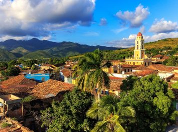 Panoramablick auf Trinidad, Kuba