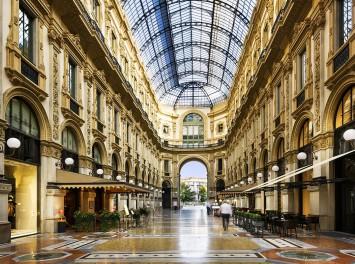 Galleria Vittorio Emanuele, Mailand