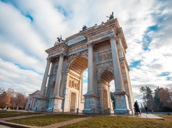 Arco della Pace, Mailand
