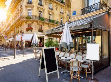 malerisches Restraurant, Paris