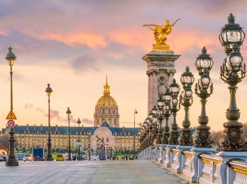 Alexander III Brücke, Paris