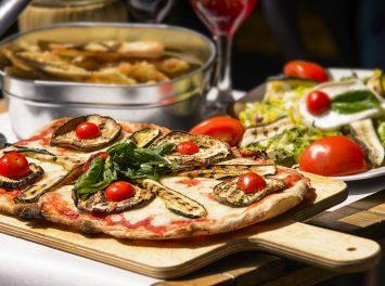 Traditionelle Pizza, Rom