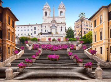 Scalinata della Trinità dei Monti, Rom