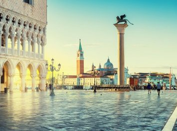 San Marco bei Sonnenaufgang, Venedig