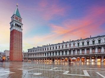 San Marco Platz, Venedig