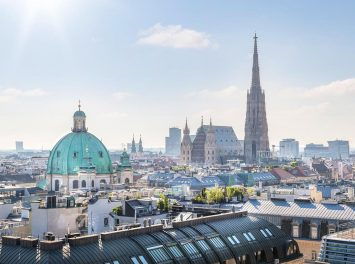 Skyline über Wien