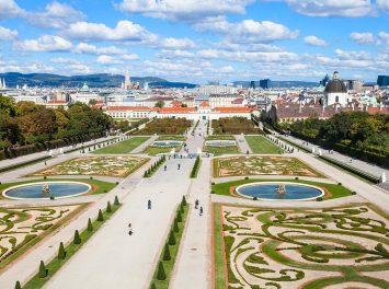 Belvedere Gärten, Wien