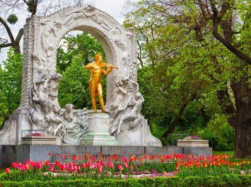 Statue von Johann Strauss, Wien