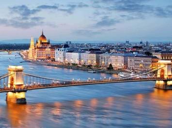 Skyline von Budapest
