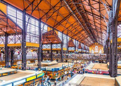 Markthallen von Budapest