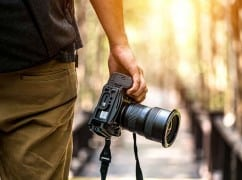 Fotografieren während des Urlaubs