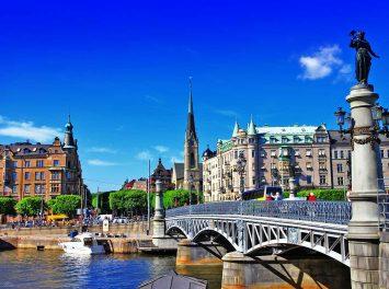 Kanäle von Stockholm