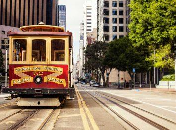 Seilbahn in San Francisco