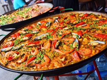 Spanische Paella, Mallorca