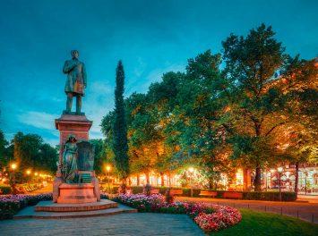 Ludvig Runeberg Statue, Helsinki