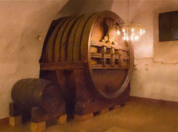Altes Weinfass im Schloss Heidelberg