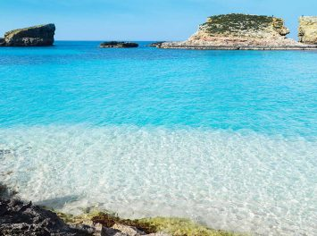 Blaue Lagune, Insel Comino, Malta